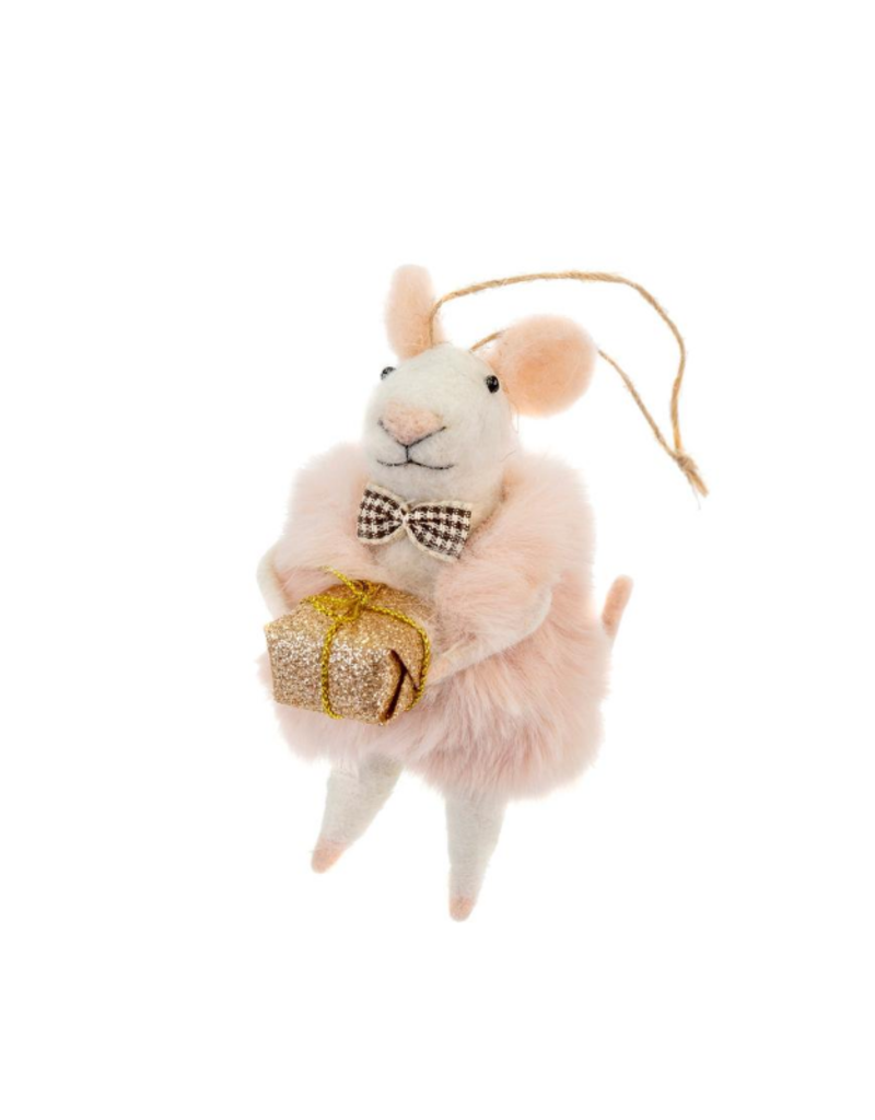 Indaba Trading Dapper Dominic Mouse Ornament