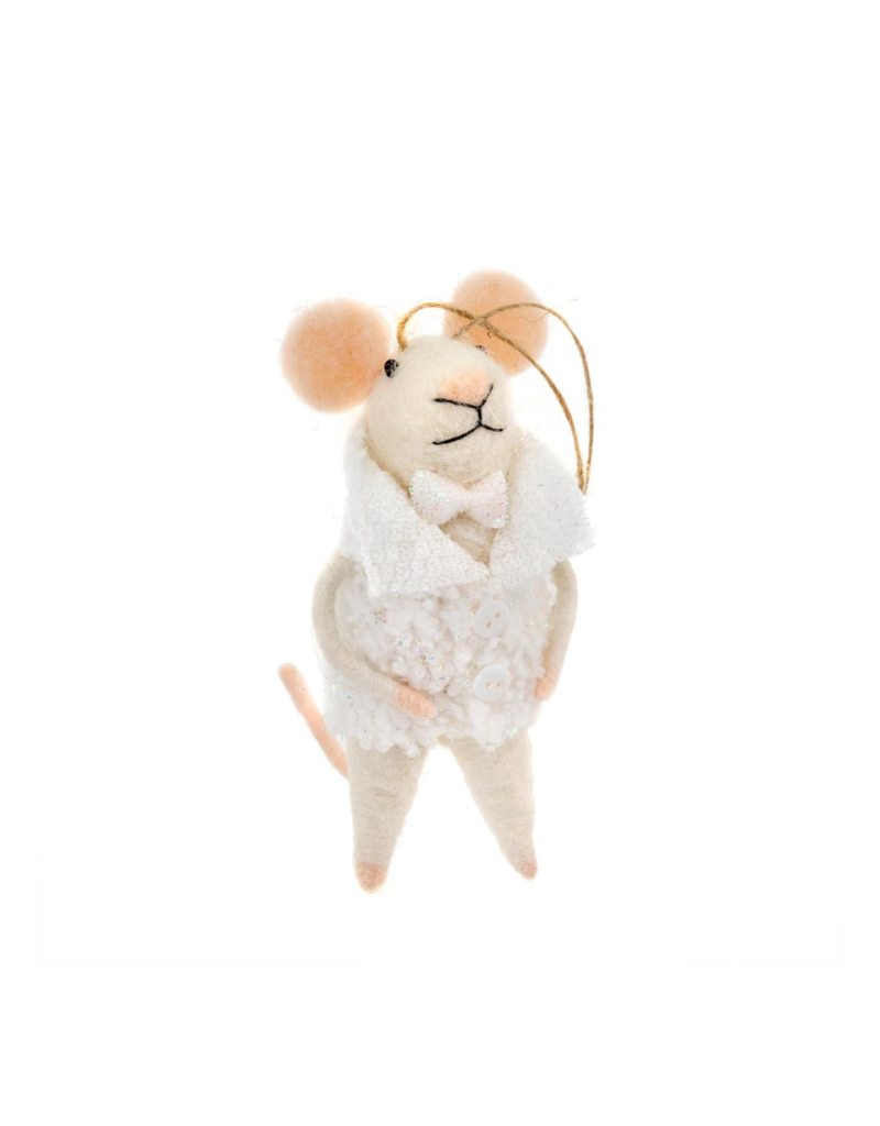 New Year's Evan Mouse Ornament