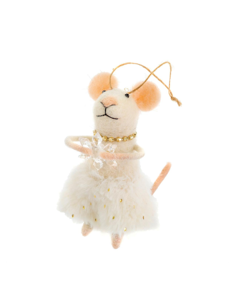 Miss Clara Mouse Mouse Ornament