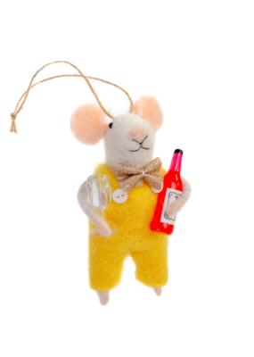 Wino Winston Mouse Ornament