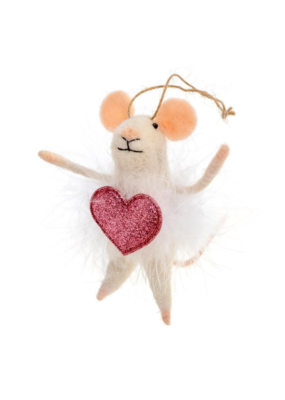 Indaba Trading Valentina Mouse Gift Topper