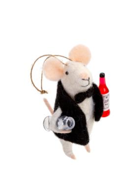 Sommelier Mouse Gift Topper