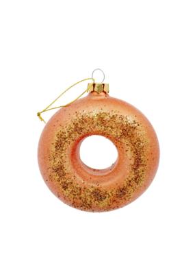 Glitter Doughnut Ornament