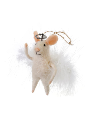 Angelic Annie Mouse Ornament