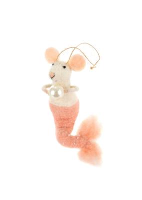 Mermaid Mouse Ornament