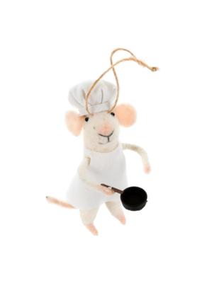 Sous Chef Mouse Ornament