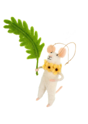 Fiona Fern Mouse Ornament