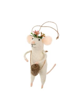 Coachella Mouse Ornament