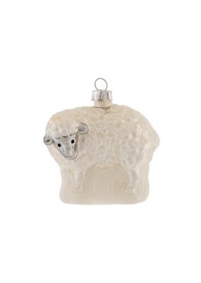 Snowy Sheep Ornament