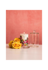 Lollia Always In Rose Glass Candle with Cloche by Lollia
