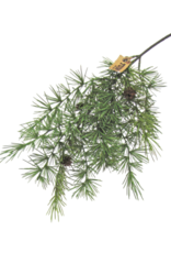Long Pine Spray with Pinecones 23""