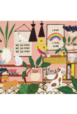 Anne Bentley Love Lives Here Puzzle