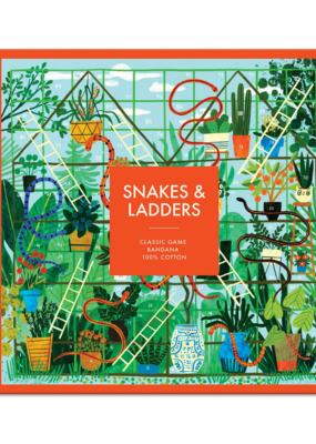 Cotton Bandana Snakes & Ladders Classic Game