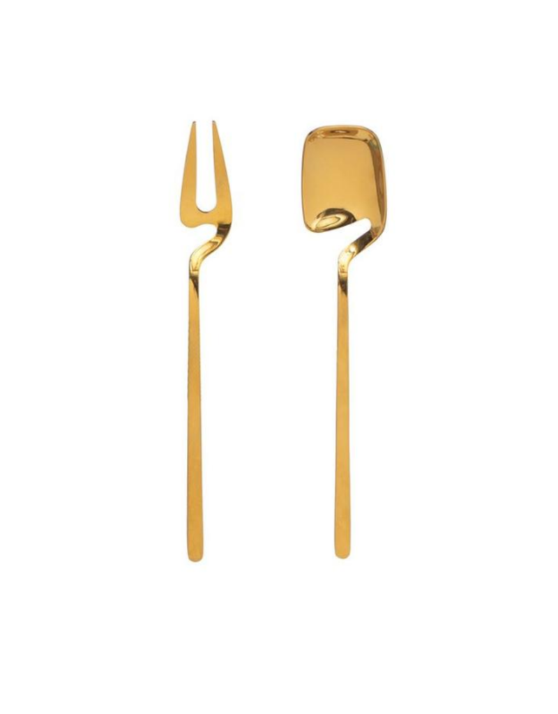 Bloomingville Gold Pickle Fork