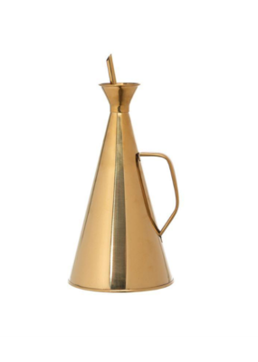 Bloomingville Gold Oil Cruet 32oz