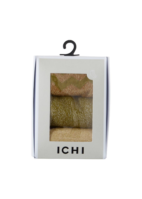 ICHI 3 pack Faine Socks In A Box by ICHI