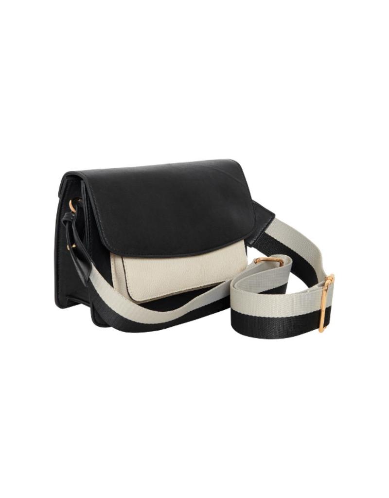 ICHI Adele Shoulder Bag Black by ICHI