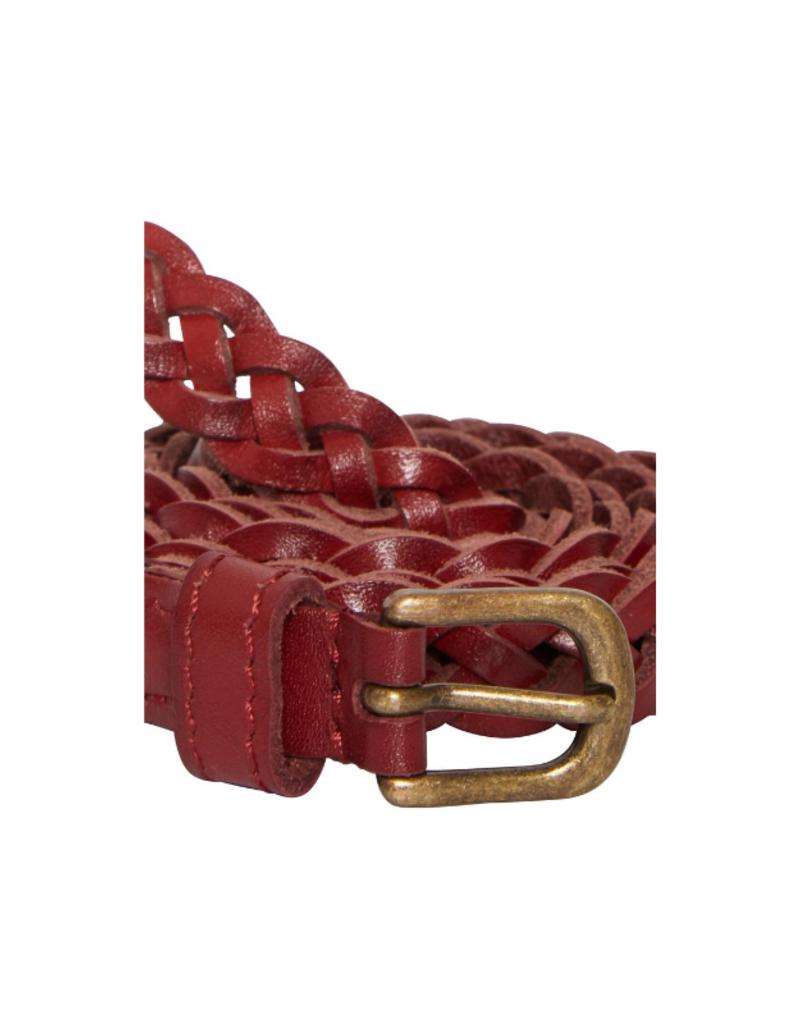 ICHI Silla Braided Belt Cognac by ICHI