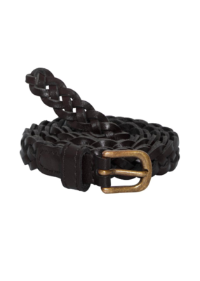 ICHI Silla Braided Belt Black by ICHI