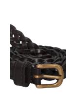 ICHI Silla Braided Belt Black by ICHI