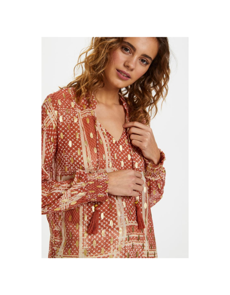 Agana Blouse in Clay by Cream