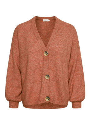 Angha Knit Cardigan Etruscan Red by Cream