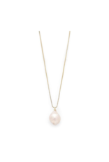 PILGRIM Ama Pearl Gold-Plated Necklace by Pilgrim