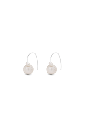 PILGRIM Ama Pearl Silver-Plated Earrings by Pilgrim