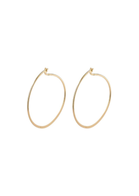 PILGRIM Small Tilly Gold-Plated Hoop Earrings by Pilgrim