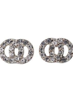 PILGRIM Victoria Silver-Plated Earrings in Pilgrim
