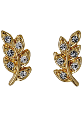 PILGRIM Imogen Gold-Plated Earrings by Pilgrim