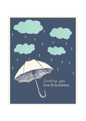 The Good Days Print Co. Good Days Card Sending You Love & Sunshine