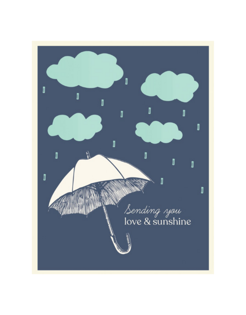 The Good Days Print Co. Good Days Card Sending You Love & Sunshine