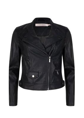 Black Moto Jacket by EsQualo