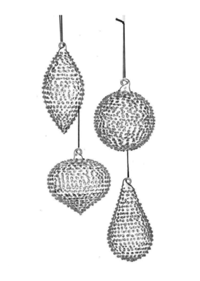 Glass Drop Ornament
