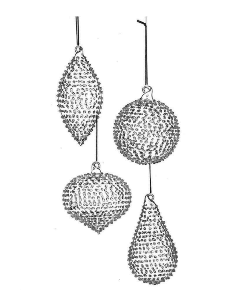 Glass Drop Ornament