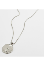 PILGRIM Affection Coin Silver-Plated Necklace by Pilgrim