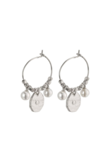 PILGRIM Affection Silver-Plated Earrings by Pilgrim