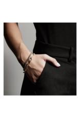 PILGRIM Sensitivity 2-Piece Gold-Plated Bracelets by Pilgrim