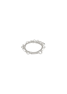 PILGRIM Sensitivity 2-Piece Silver-Plated Bracelets by Pilgrim
