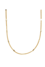 PILGRIM Cat Gold-Plated Necklace by Pilgrim