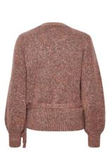 Kiara Knit Wrap Sweater by Cream