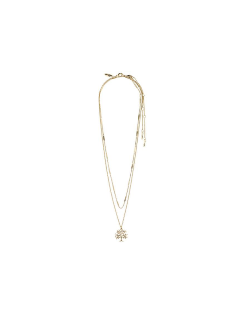 PILGRIM Doctors Without Borders Gold-Plated Necklace