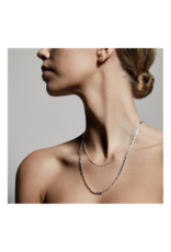 PILGRIM Intuition Silver-Plated Necklace by Pilgrim
