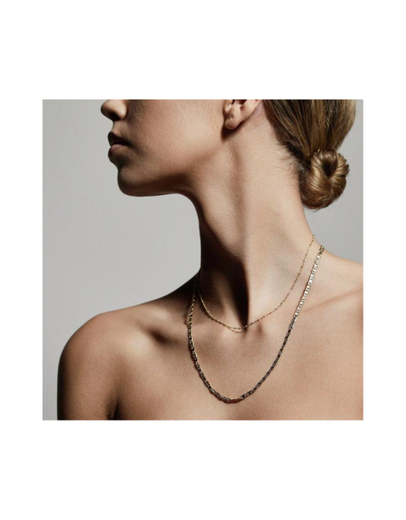 PILGRIM Intuition Gold-Plated Necklace by Pilgrim