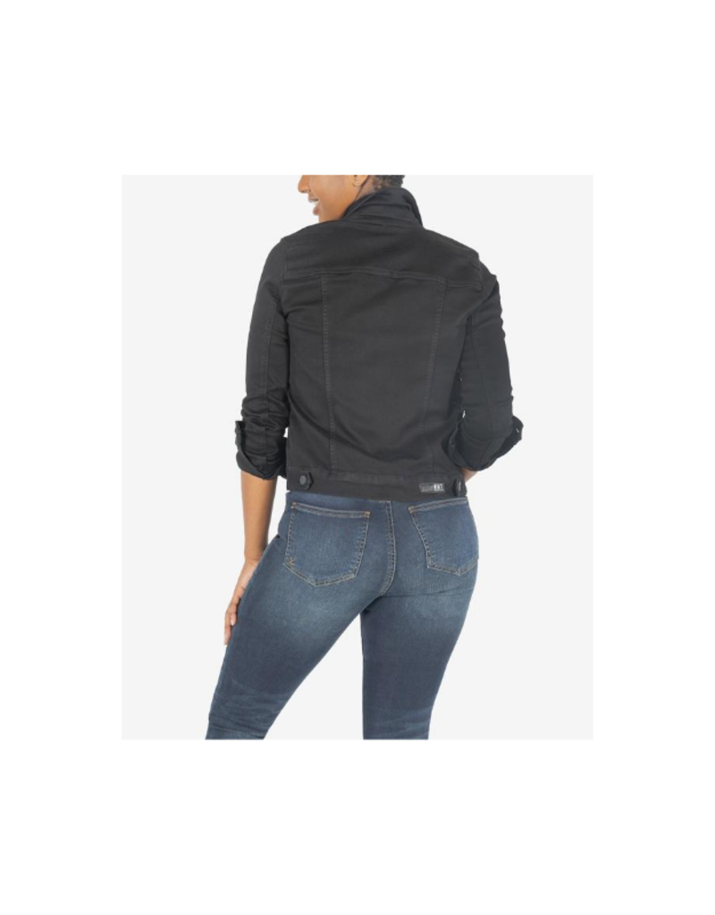 Kut from the Kloth Amelia Jacket in Black by Kut from the Kloth