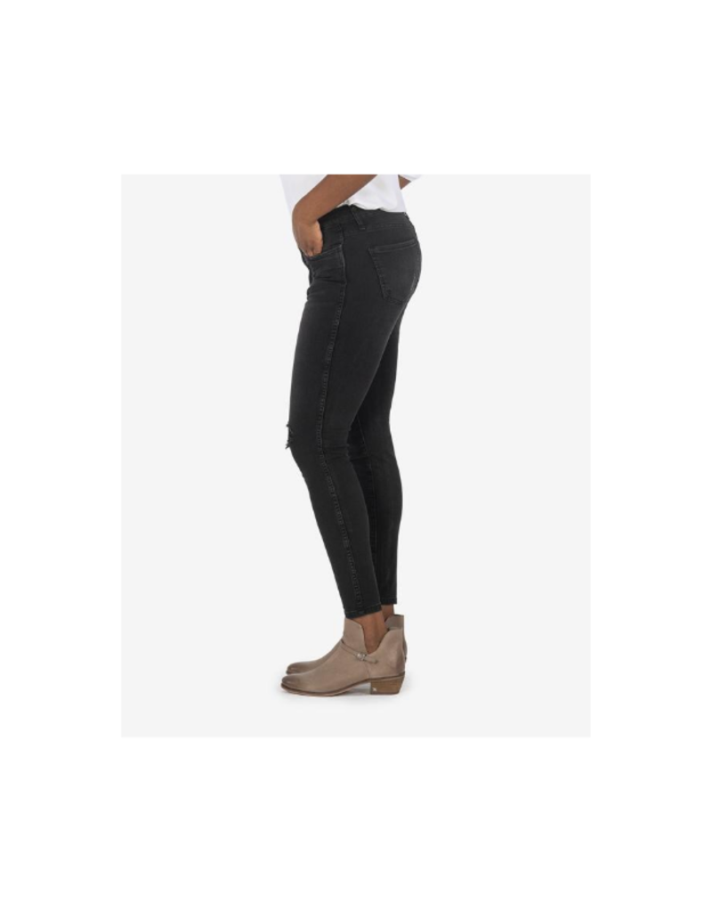 Kut from the Kloth Connie Fab Ab Ankle Skinny in Hundred Wash