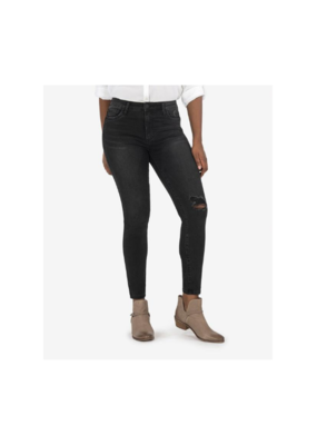 Kut from the Kloth Connie Fab Ab Ankle Skinny in Hundred Wash by Kut from Kloth