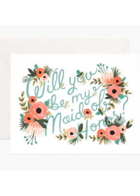 Rifle Paper Co. Will You Be My Maid of Honour? Card