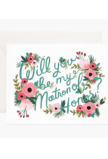Rifle Paper Co. Will You Be My Matron of Honor? Card